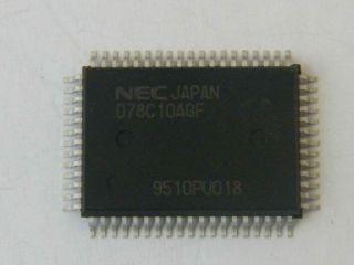 CIRCUITO INTEGRATO UPD78C10AGF   NEC QFP64  14X20MM 78C10AGF
