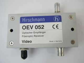 RICEVITORE VIDEO FIBRA OTTICA  OEV052BFOC  HIRSCHMANN