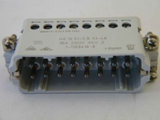 CONNETTORE  TYCO 1-1103416-8  HA.16.STI.S.B.33-48  HTS 41.10.16.28