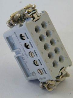 CONNETTORE  TYCO 1-1103415-1  HA.10.BU-S  HTS 41.20.10.00