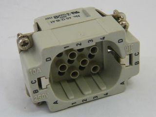 CONNETTORE  TYCO 2-1103006-3  HD.16.STI.C.1,50