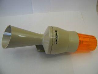 SIRENA + LAMPADA 220V WERMA 580.352.68