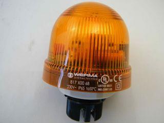 LAMPEGGIANTE 230V GIALLO 817.300.68 IP65