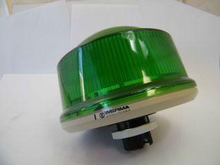 LAMPADA VERDE 24V WERMA 899.260.55
