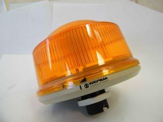 LAMPADA ARANCIONE 24V WERMA 899.360.55