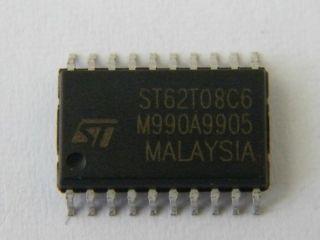 CIRCUITO INT. SMD ST62T08CM6 8 BIT MCU
