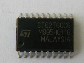 CIRCUITO INT.SMD ST62T60CM6 8 BIT MCU