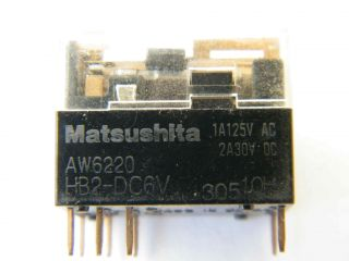 RELE 6V HB2-DC6V AW6220 MATSUSHITA