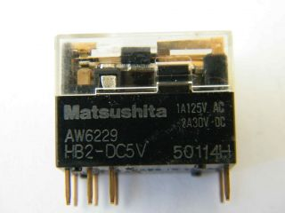 RELE 5V HB2-DC5V AW6229  MATSUSHITA