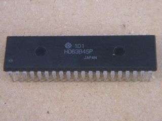 HD63B45P 2MHZ CRT CONTROLLER HITACHI DIP40