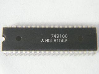 M5L8155P  MITSUBISHI  I/O PORT DIP40
