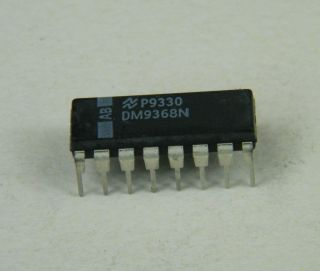DM9368N 7 SEGMENT DECODER NATIONAL