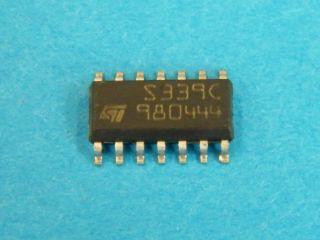 TS339CD ST QUAD COMPARATOR SO14