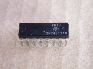 74S134  SN74S134 12 INPUT NAND THREE STATE