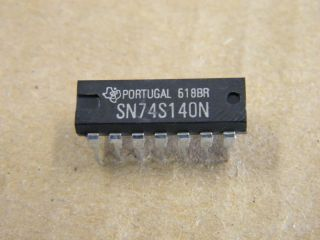 74S140 SN74S140 4 INPUT NAND LINE DTIVER