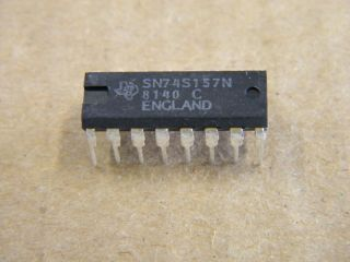 74S157 SN74S157 QUAD  TO 1 DATA SELECTOR