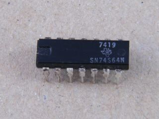 74S64 SN74S64 4-2-3-2 INPUT AND/OR