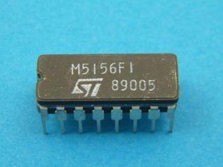 CIRCUITO INTEGRATO M5156F1 ST MICROELECTRONICS DIL16