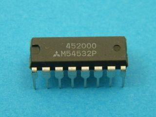 CIRCUITO INTEGRATO M54532P MITSUBISHI DIL16