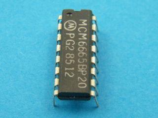 CIRCUITO INTEGRATO MCM6665BP20 MOTOROLA DIL16