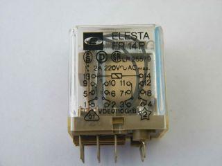 RELE ELESTA FR14P-12VDC FR14-12V