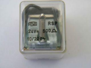 RELE FEME RSP-24V 30 SCAMBI 10A 220V DA C.S.