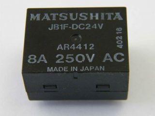 RELE MATSUSHITA JB1F-DC24V 1 SCAMBIO 8A JB1F-24