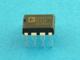 AD843JN ANALOG DEVICES DIL 8 OPERATIONAL AMPLIFIER