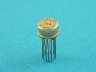 CA3049 RCA METAL CAN 12 PIN DIFFERENTIAL AMPLIFIER