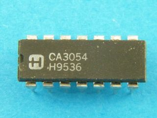CA3054 HARRIS DIL14 DUAL DIFFERENTIAL AMPLIFIER