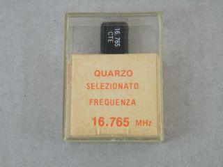QUARZO SELEZIONATO HC49 16,675MHZ