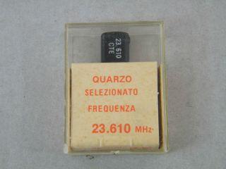 QUARZO SELEZIONATO HC49 23,610 MHZ
