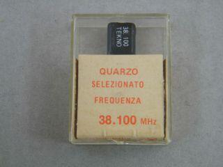 QUARZO SELEZIONATO HC49 38,100 MHZ