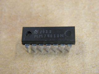 74C10 DIL14 TRIPLE 3 INPUT NAND