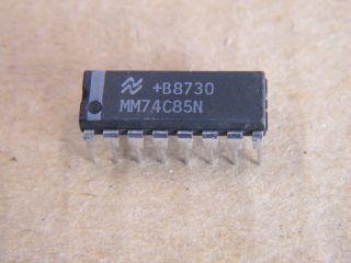 74C85 DIL16 4 BIT MAGNITUDE COMPARATOR