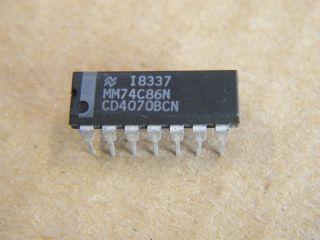 74C86 QUAD 2 INPUT XOR