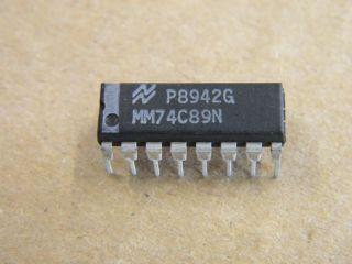 74C89 DIP16 64BIT RAM