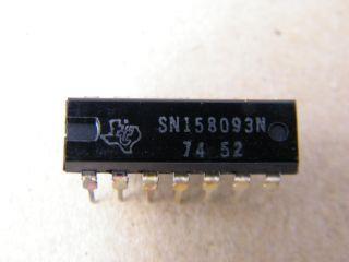 SN158093 DUAL JK FLIP FLOP DTL TEXAS