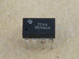 SN75461P TEXAS DUAL PERIPHERIAL DIVER   DIL8