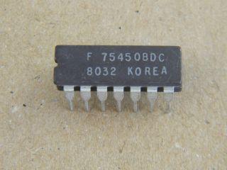 75450DC  DUAL PHERIFERAL DRIVER CERAMIC DIP14 F75450