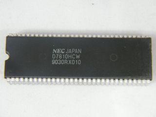 UPD7810HCW NEC SINGLE CHIP MOCROCONTROLLER DIP64