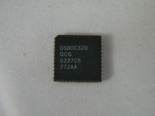 DS80C320CQG DALLAS MICROCONTROLLER PLCC44