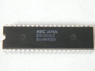 D80C39BHCL 8BIT MOCROCONTROLLER DIL 40 NEC