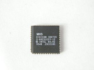 S80C52CCF-12 8 NIT MICROCINTROLLER MHS 44PLCC 12MHZ