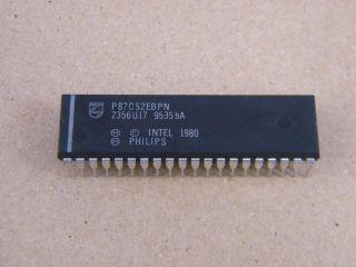 P87C52EBPN  INTEL 8 BIT MICROCONTROLLER DIL40
