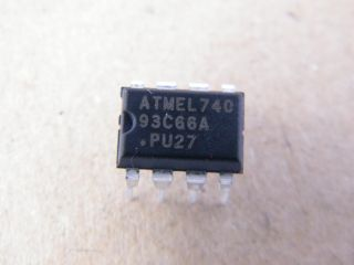 AT93C66A ATMEL 4K EEPROM 8-16BIT