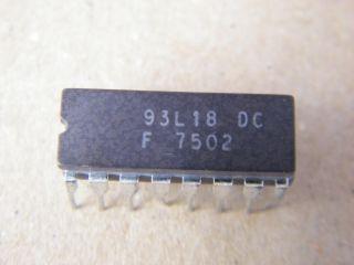 F93L18DC  93L18DC  8 INPUT ENCODER FAIRCHILD DIL16