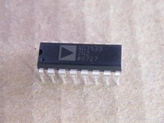 AD7533JNZ ANALO DEVICES 8 BIT DAC DIL16