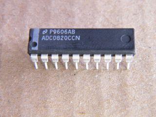 ADC0820CCN NATIONAL 8 BIT DAC DIL20