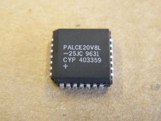 PALCE20V8L-25JC AMD PLCC28 GENERIC LOGIC ARRAY